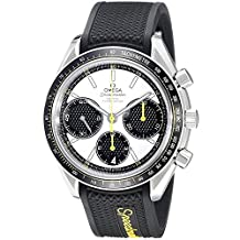 Omega Speedmaster Racing Automatic Chronograph White Dial Stainless Steel Mens Watch 32632405004001