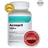 Acnepril 1400mg (120 Caps) - Best Acne Pills - Natural Acne Supplement