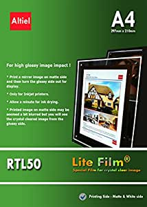 RTL50 - Láminas A4 x 10 - Papel de inyección de tinta ...
