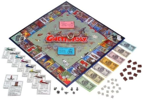 Ghettopoly Boardgame by Ghettopoly.com