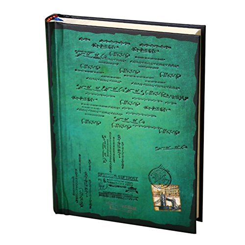 Tinksky Journal Diary Hard Cover Diary Notebook Journals Notepad - Size L (Green)
