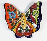 Tierra Fina Talavera Large Butterfly - 7'' x 6.25'' Decoartion F