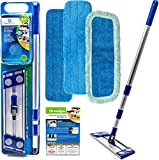 Best Dust Mop For Hardwood Floors - Professional Microfiber mop for hardwood tile laminate Review