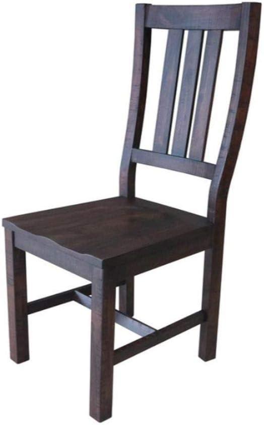Coaster Home Furnishings Calandra Slat Back Vintage Java (Set of 2) Side Chair