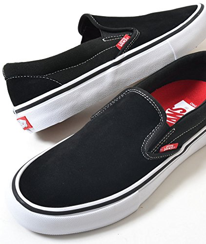 WHITE / 【バンズ スリッポン プロ】 GUM VANS SLIP-ON PRO BLACK /