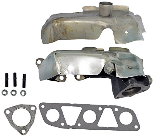 Dorman 674-440 Drivers Side Exhaust Manifold Kit For Select Nissan Models (D21 Exhaust Nissan Manifold)