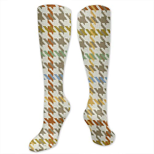 Misty Cosplay Shoes (Misty Autumn Guncheck Plaid High Performance Athletic Casual Long Sock for Women and Men - fit For)
