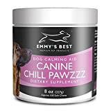 Emmy's Best Chill Pawzzz Dog Calming Soft Chew Treats by for Separation Anxiety, Nervousness, Fireworks (100ct)