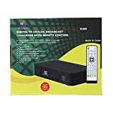 Sunkey Sk-903h Digital to Analog Broadcast Converter with Remote Control Hdmi and USB