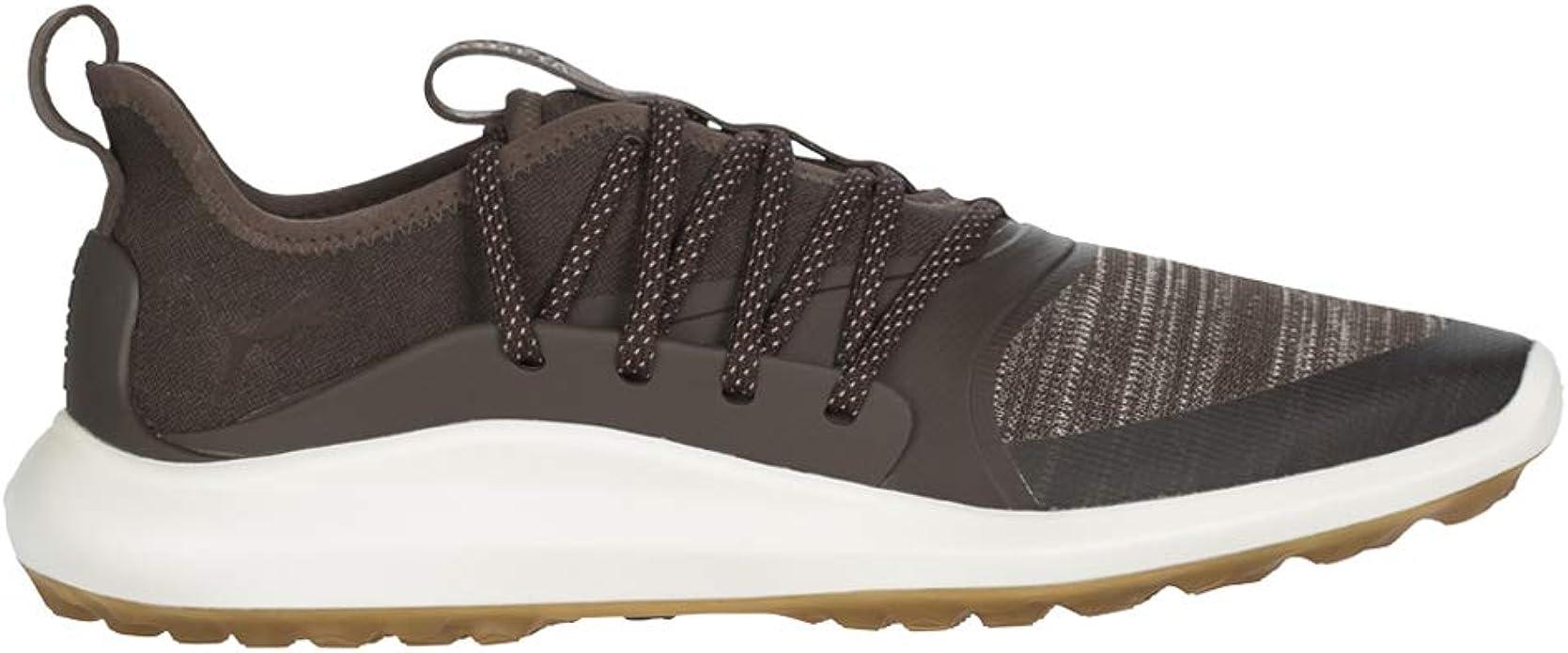Amazon Com Puma Men S Ignite Nxt Solelace Spikeless Golf Shoes Aloha Le Brown Golf