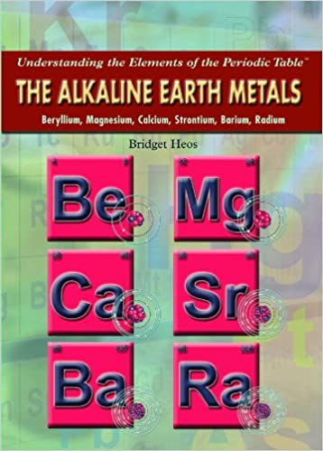 The alkaline earth metals beryllium magnesium calcium the alkaline earth metals beryllium magnesium calcium strontium barium radium understanding the elements of the periodic table bridget heos urtaz Choice Image