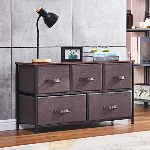 nozama 5 Drawer Fabric Dresser