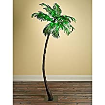Gerson Everlasting Glow 92415030 Outdoor Electric Palm Tree with 56 Green LED Lights, 5'