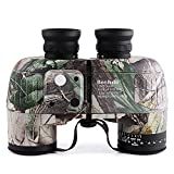 LightInTheBox Multi-coated Night Vision 10X50 Waterproof Navy Binoculars Telescope with Rangefinder and Compass Ranger Finder