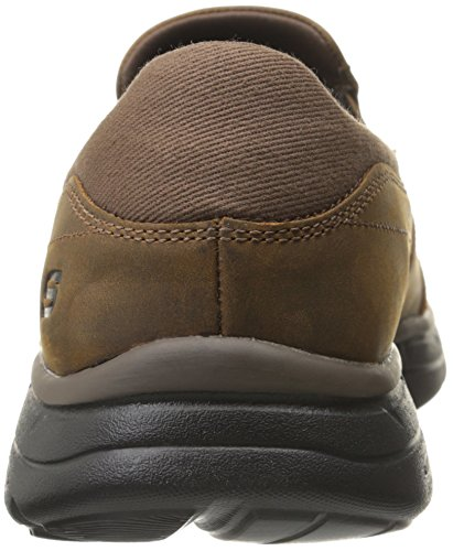 Glides Brown Marrone Uomo Scarpe Skechers Running Calculous Dark dwX0dqv