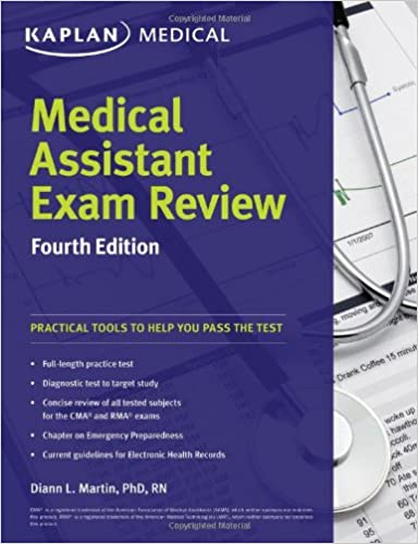 buy medical assistant exam review (kaplan medical) book online at ...