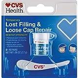 Temporary Lost Filling & Loose Cap Repair