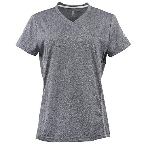 Green Layer Womens Greenlayer Women's Evolution Short Sleeve Tee Casual Grey ()