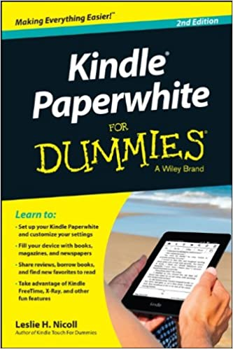 Kindle Paperwhite For Dummies Leslie H Nicoll 9781118855324
