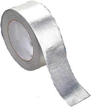 SXYULQQZ - Cinta de Aluminio Resistente a Altas temperaturas, Resistente al Agua: Amazon.es: Hogar