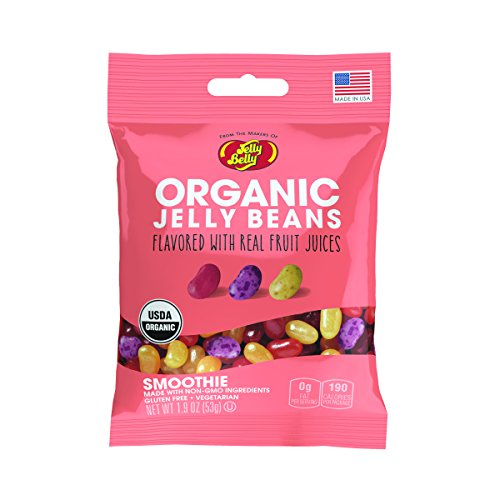 Jelly Belly Organic Smoothie Jelly Beans, 5 Fruit Smoothie F