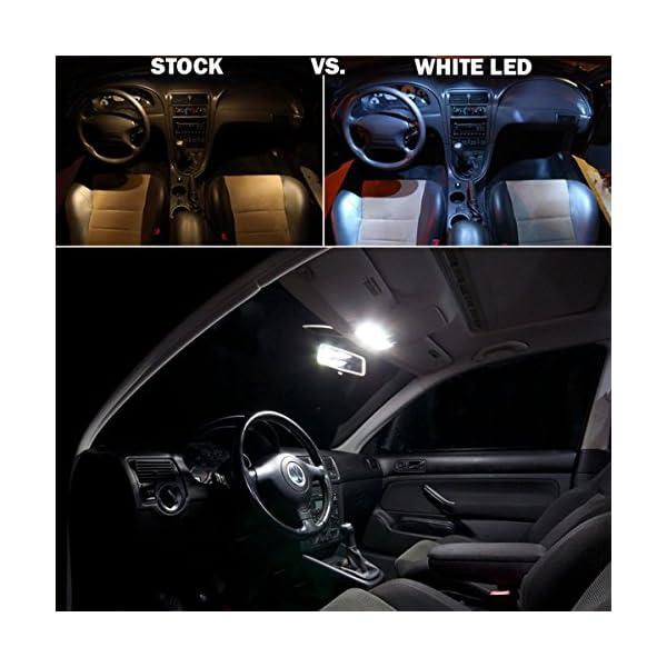 DE3175 LED Interior Dome Light Map Bulb For Car SEALIGHT 4014 Chipset Canbus Error Free DE3021 DE3022 Festoon 31mm 125 Bulbs 6000K Xenon White