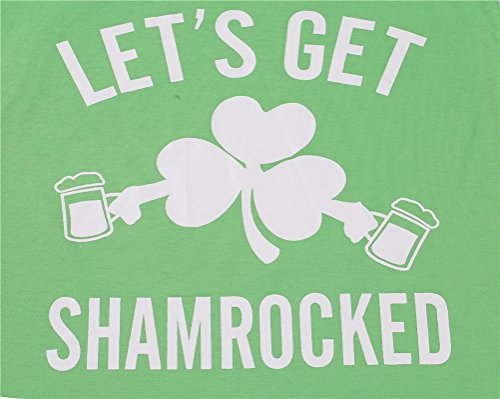 yangelo-ST-Patricks-Day-Green-T-Shirt-Lets-Get-Shamrocked-Womens-V-Neck-Tops-Funny