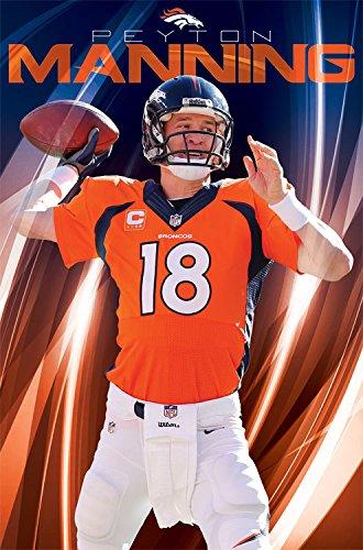24b8d0ac Trends International Wall Poster Denver Broncos Peyton Manning, 22.375