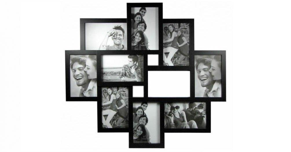 Amazon.de: Bilderrahmen 3D-Collage 10 Fotos Fotorahmen Bilder ...