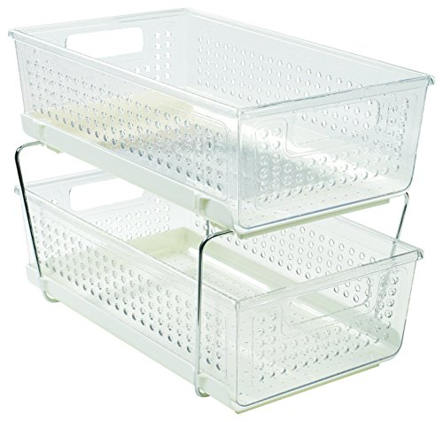 How to buy the best pantry baskets for organizing 2 tier?