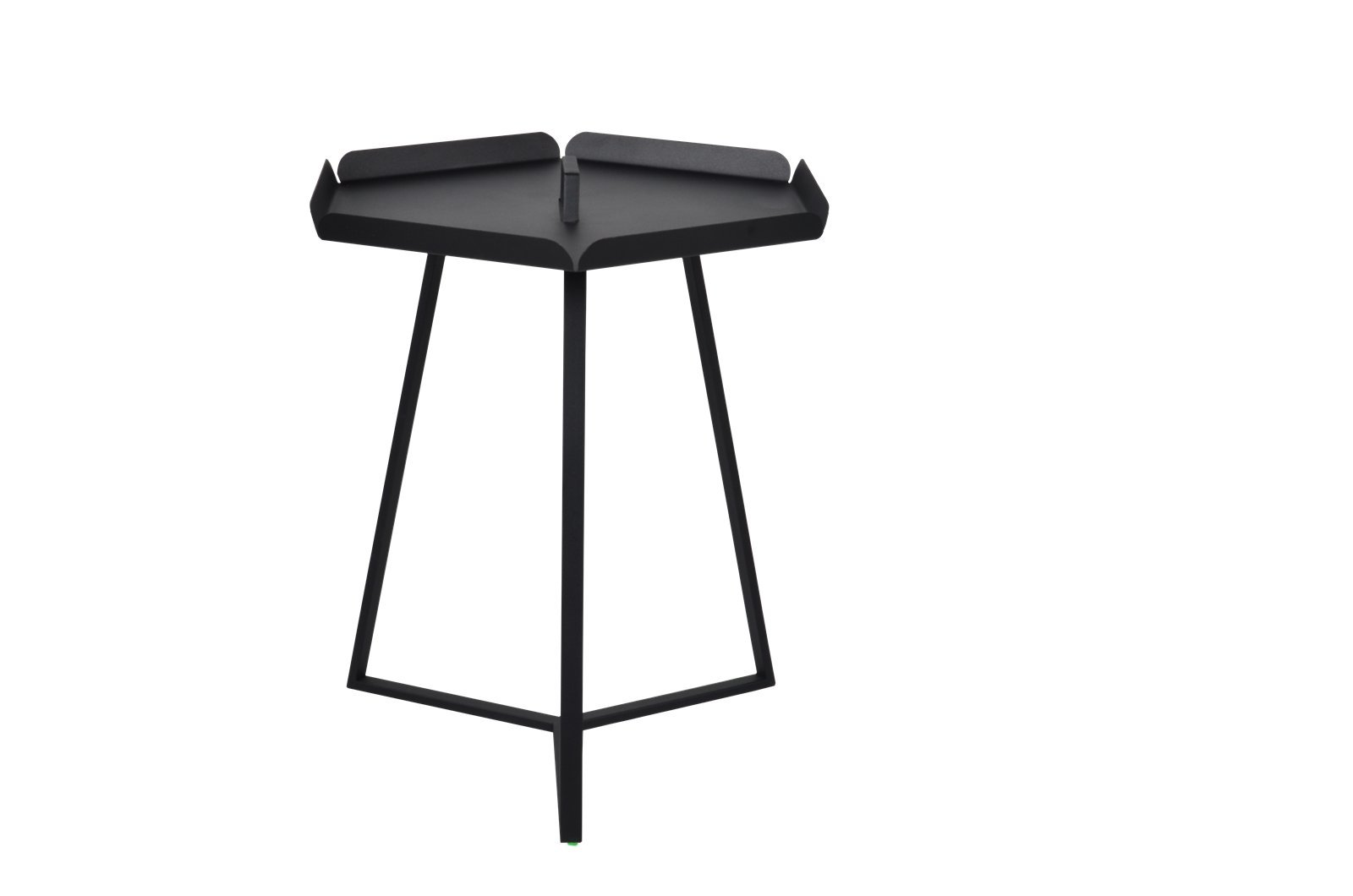 EMPIRICA Black Versa Table: Large - Premium all-steel sturdy construction Timeless and modern -- sophisticated designer Table Heavy duty, Premium quality, unbeatable value - patio-tables, patio-furniture, patio - 514zFHCF23L -