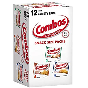 Combos Variety Pack Fun Size Baked Snacks 0.93-Ounce Bag 12-Count Box