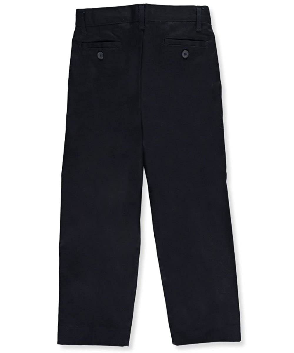 Galaxy Little Boys School Uniform Double Knee Pleated Pants