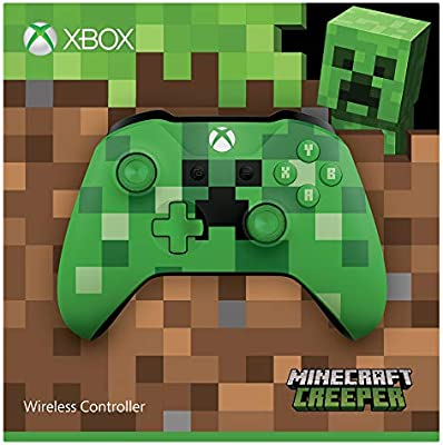Microsoft - Mando Inalámbrico: Edición Limitada Minecraft ...