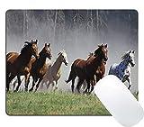 Wknoon American Quarter Horses Prairie Animal Mouse Pad