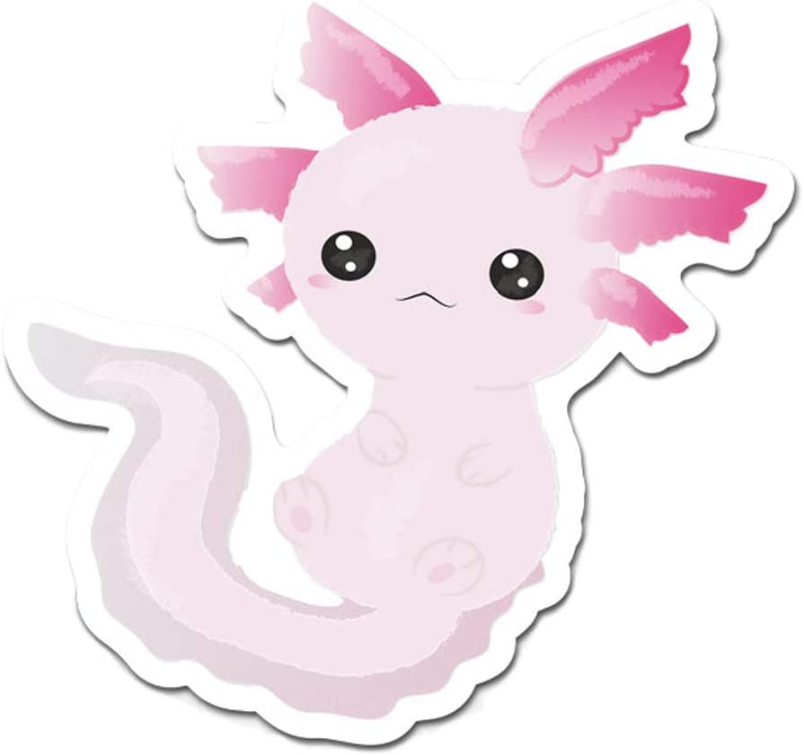 "MightySkins Axolotl Laptop Sticker Vinyl 3"" Decal"