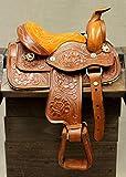 M-Royal 8' Toddler Size Leather Western Miniature Pony Saddle