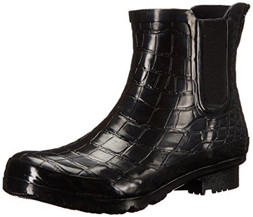 Crocodile Rain Women's Boots Black Roma Chelsea CS8wq6R