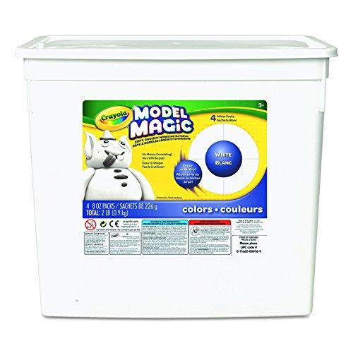 Crayola 57-4400.0030 - Education - Baril de Model Magic Blanche