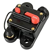 Y-SOLAR 12V/24V DC Home Solar System Waterproof Circuit Breaker Reset Fuse Inverter (200A)