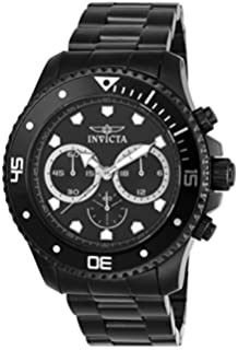 Invicta Mens 21792 Pro Diver Analog Display Quartz Black Watch