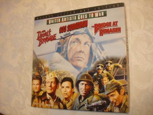 United Artists Goes to War - The Devil's Brigade, 633 Squadron, & The Bridge at Remagen on LASERDISC