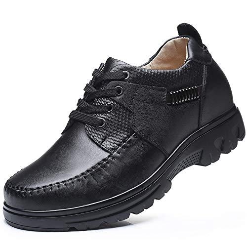 Scarpe Morbide suola invisibile uomo per 39 morbide Colore Fuxitoggo EU morbide scarpe Nero stringate Dimensione Nero rotonde pXxdwSq