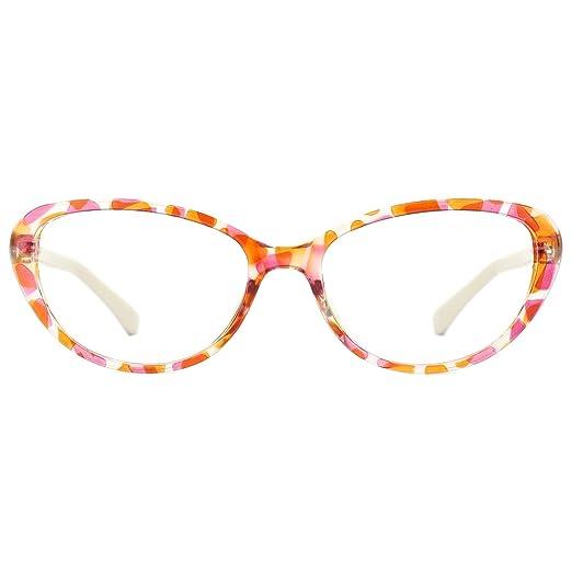 c24f36beb634e Amazon.com  Women Retro 60s Classic Cat Eye Eyeglasses