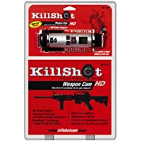 Killshot Weapon Camera with Picatinny Rail Mount, Black