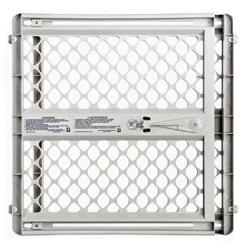 North States Industries Supergate Classic – Light Gray – 26 to 42