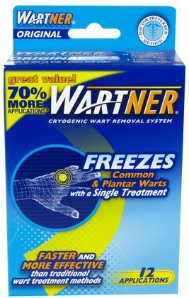 (Wartner Cryogenic Wart Removal System, Original-12 applications (Quantity of 2))