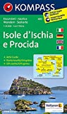 Isole d' Ischia e Procida: Wanderkarte und Seekarte mit Aktiv Guide. GPS-genau. Dt. /Ital. /Engl./Franz. 1:15000 (KOMPASS-Wanderkarten, Band 680)