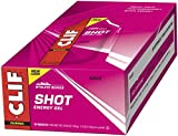 CLIF SHOT - Energy Gel - Razz - No Caffeine (1.2 Ounce Packet, 24 Count)