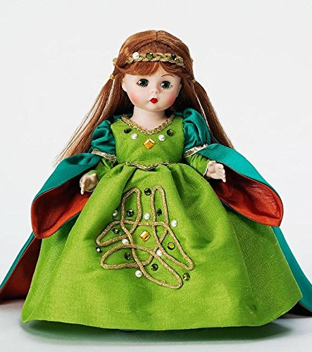 72940 Irish Banphrionsa Madame Alexander 8'' International Dolls mint in box by Unknown